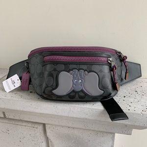 NWT Disney X Coach Terrain Belt Bag In With Dumbo